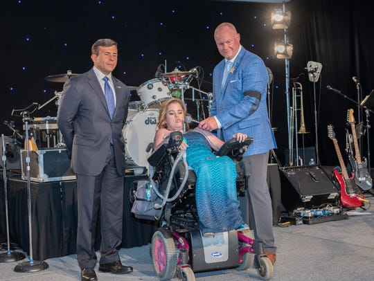 Megan Crowley, diagnosed with Pompe Disease, whose