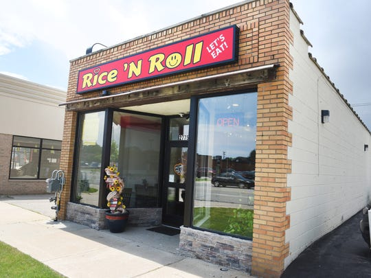 Rice 'n Roll is located at 27751 Harper Avenue in St. Clair Shores. The one-room restaurant is predominately carryout, but with a few tables for those who'd rather stay.