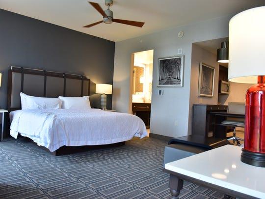 Hampton Inn & Suites and Homewood Suites in Teaneck.