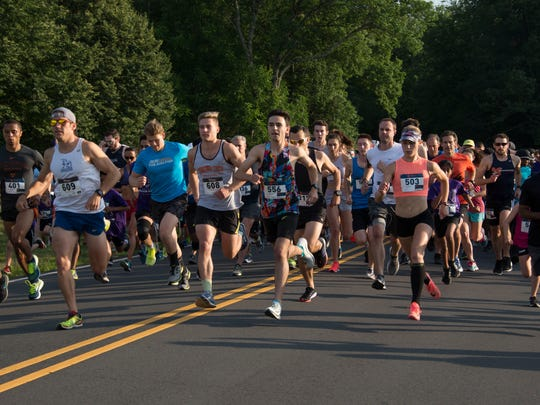 More than 620 runners of all ages ran in the 14th Annual