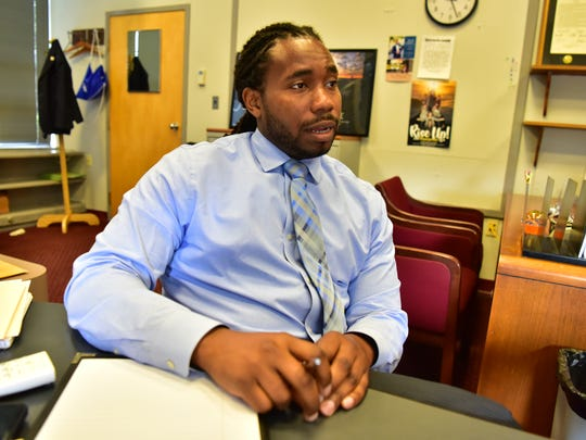 Chris Irving, a former Paterson school board member,