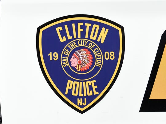 Clifton police badge.