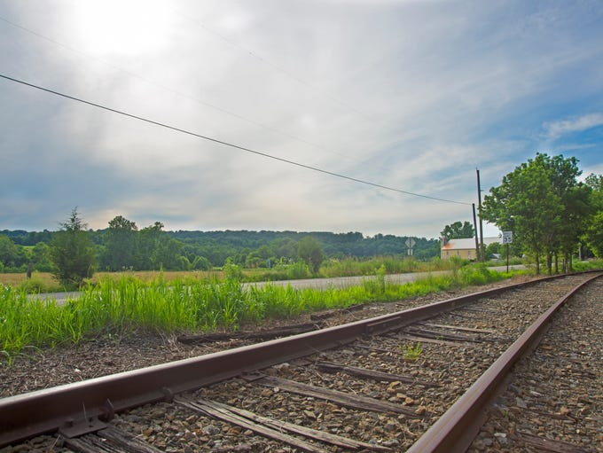 The York County Heritage Rail Trail just south of Indian