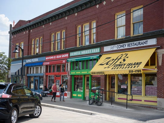 The Russell Street building that hosts five independent operations — Russell Street Deli, Supino, Zeff's Coney Island, Mootown Ice Cream Shoppe and Detroit Kung Fu Academy — sold for $20 million in late June, according to Wayne County Register of Deeds records. The two-story, 18,000-square foot building at the corner of Russell Street and the Fisher Service Drive has residences on the second floor.