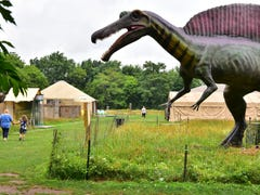 Animatronic dinosaurs looking for new home in Teaneck