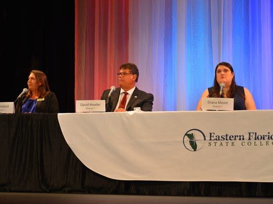 Wednesday night District 1 and 2 school board forum