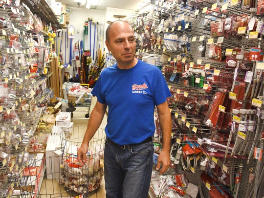 Ray Formosa, owner of Brooks Lumber, one of the oldest businesses in the city of Detroit, says Corktown once had many small retailers.