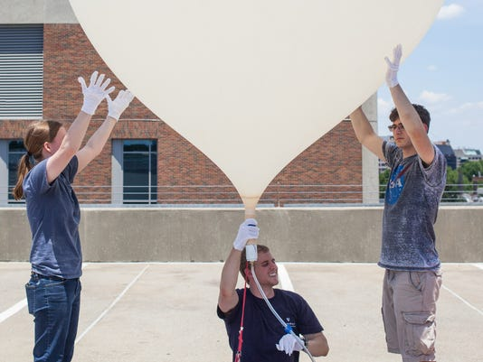 Vanderbilt solar eclipse weather balloon