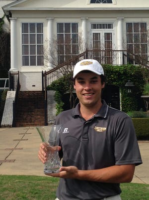 Southern Miss senior Casey Fernandez captured the Old Waverly Intercollegiate championship last week at West Point.