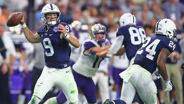 Trace McSorley had two touchdown passes in Penn State's