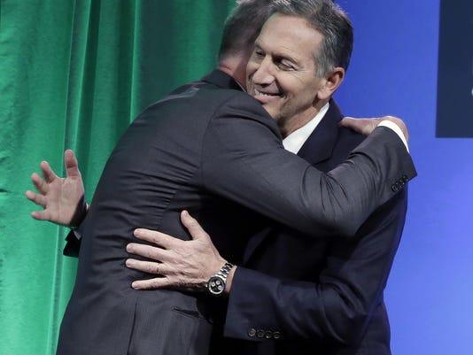 Howard Schultz,Kevin Johnson