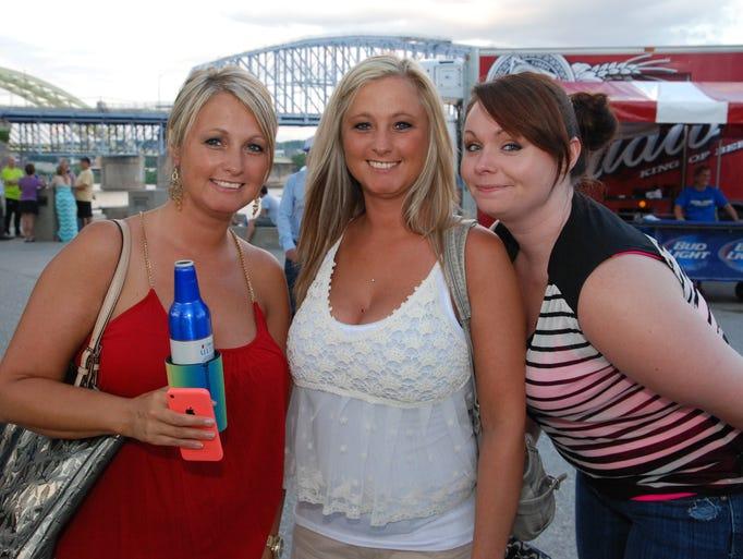 Christy Sheldon, Misty Sheldon and Nicole Robbins.