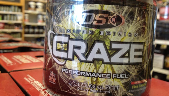 Driven Sports stopped distributing Craze in 2013 in the wake of a USA TODAY investigation that reported tests finding an undisclosed amphetamine-like compound in the product.