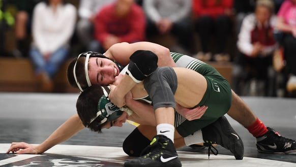 Bergen Catholic and Delbarton wrestle in the Non-Public