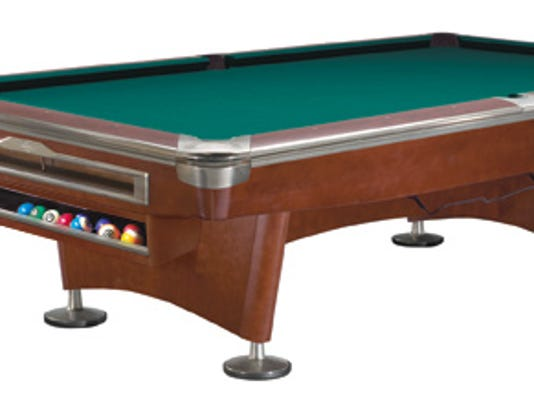 Herron Students Vie To Design New Brunswick Pool Table - New brunswick pool table