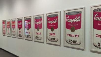 """The Springfield Art Museum had a collection of Andy Warhol soup can screenprints on display for a recent show, """"The Electric Garden of Our Minds: British/American Pop."""" In April, seven of the 10 prints in the collection were stolen. They have yet to be recovered."""