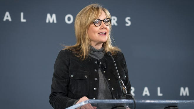 General Motors Chairman and CEO Mary Barra in December 2016.