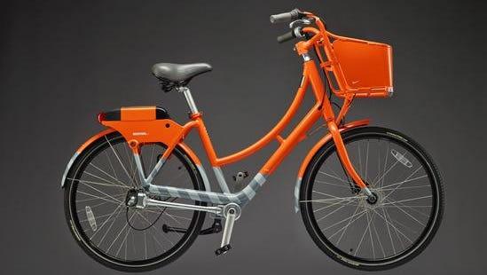BikeTown bike share bike.