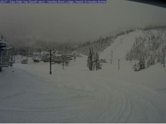 Hoodoo Ski area, on Santiam Pass east of Salem, will open for the season on Friday.