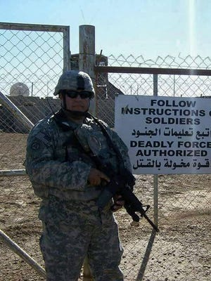 Abel Rodriguez, Post Commander of American Legion Post 7.