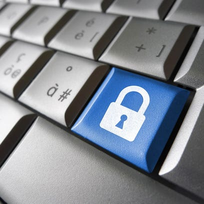 Computer Data Security Key
