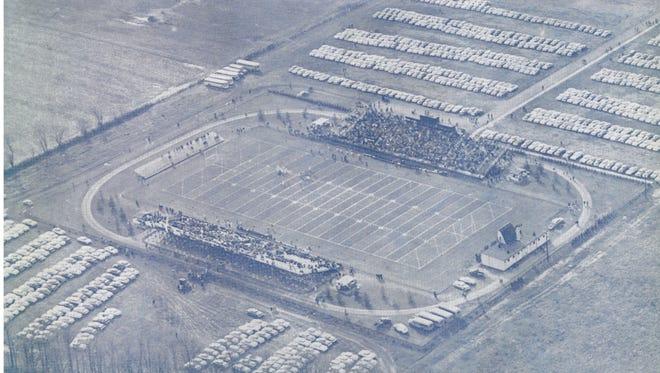 Delaware Stadium, 1955