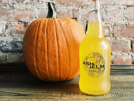 Autumntide Pumpkin Ale from Ash and Elm Cider.