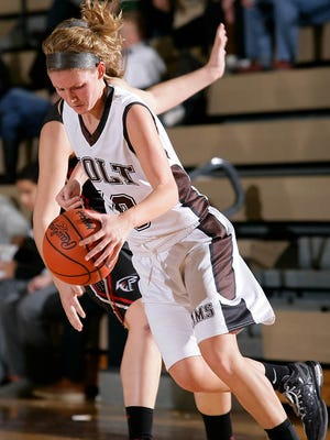 Tara Lierman, shown during a game last month, had a quadruple-double in Holt's win over Sexton on Tuesday.