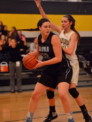 Kayla Devine had 33 points and 10 rebounds for Mahwah in a win over Ramsey.