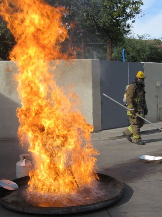 Phoenix Fire Department Frying A Turkey Can End In Flames