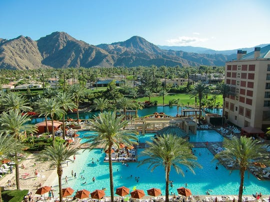 Guests enjoy the Renaissance Indian Wells Resort & Spa. Hotels like this one help to provide some 50,000 tourism industry jobs in the Coachella Valley.