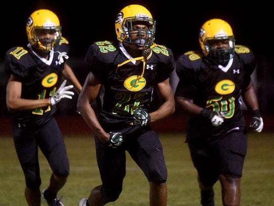 Green Oaks vs. Haynesville football in Shreveport on