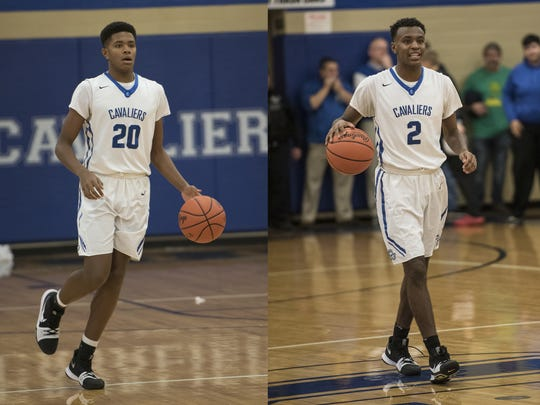 Brothers Jayvon Maughmer (left) and Branden Maughmer (right) were often compared to one another when they played for Chillicothe. The brothers frequently played together and were sometimes called a mirror image of one another due to the extreme passion both had for the game.
