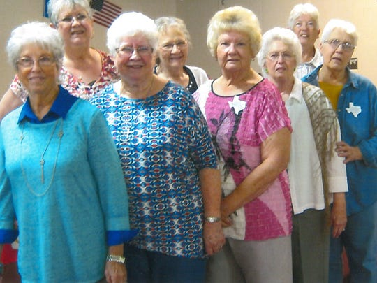 Members of the Taylor County Extension Education Association