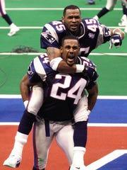 Ty Law (24), Michigan, CB: Super Bowl XXXI, XXXVI,