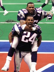 Ty Law (24), Michigan, CB: Super Bowl XXXI, XXXVI,