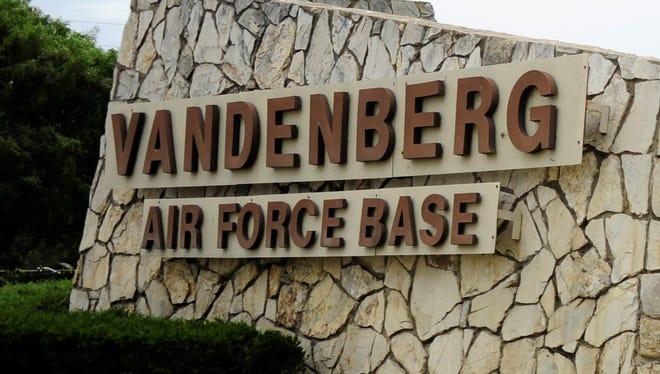 Vandenberg Air Force Base is in Santa Barbara County.