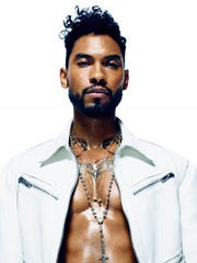 File photo of singer Miguel.
