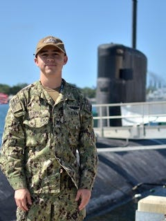 Petty Officer 2nd Class Trever Rivera works as a machinist's mate (nuclear) serving aboard the Pearl Harbor-based submarine.
