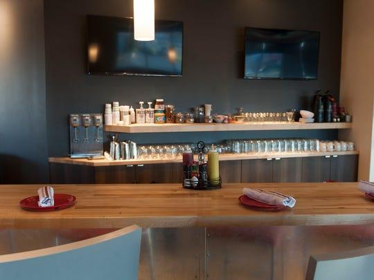 Modern design was a hallmark of Rockhill, the restaurant