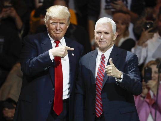 President-elect Donald Trump and Vice President-elect