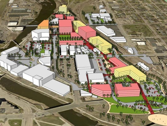 RDG Design and Planning envisions multiple mixed-use