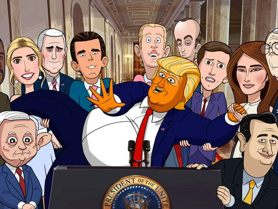 Stephen Colbert is behind Showtime's animated series