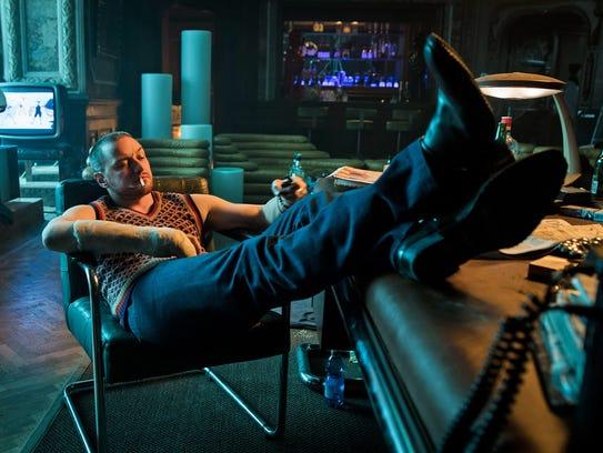 James McAvoy co-stars as British agent David Percival