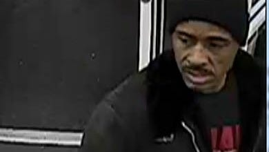 An investigation led police to the CVS at 2020 E Morgan. On 1-9-17, a black male used one of the stolen checks to purchase alcohol and toilet paper. The 9:45pm transaction was captured on store surveillance and police were able to get several images of the man who used the stolen check.