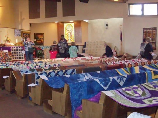 The Nekoosa UCC quilt show will take place March 11.