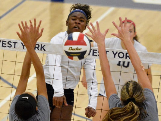 York Suburban vs West York girls' volleyball