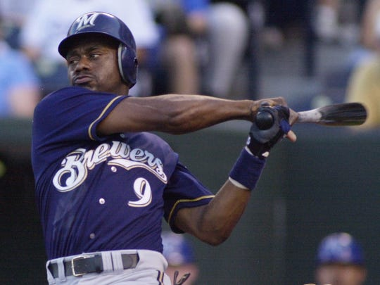 Milwaukee Brewers outfielder Marquis Grissom was one of the team's top players in 2000.