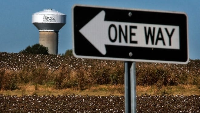 Municipal leaders in West Tennessee are pushing hard to land a Toyota-Mazda plant at the Memphis Regional Megasite in Haywood County near Stanton. The state-owned site presently consists of a water tower,  cotton fields and infrastructure work commissioned by the state of Tennessee.