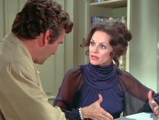 Peter Falk and Valerie Harper in 1972 Columbo episode